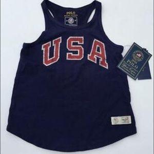 Ralph Lauren Polo Olympic USA Girls Tank